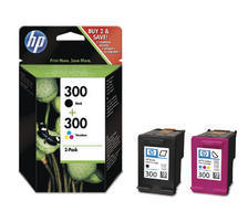 300 Combopack black/color zu HP CC637EE